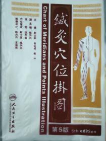 针灸穴位挂图(第5版) 靳士英, 金完成, 靳朴 9787117172875 人民卫生出版社