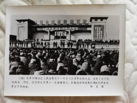1983年严打天津塘沽区人民法院十一月十八日公判大会照片
