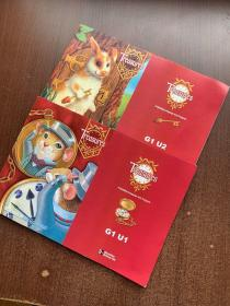 treasures:A Reading/Language Arts Program G1 U1.2 两本合售
