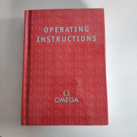 OMEGA  OPERATING INSTRUCTIONS  欧米茄手表说明书