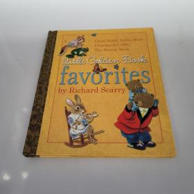 Little Golden Book Favorites by Richard Scarry斯凯瑞金色童书-我最喜欢的金色童书 英文原版