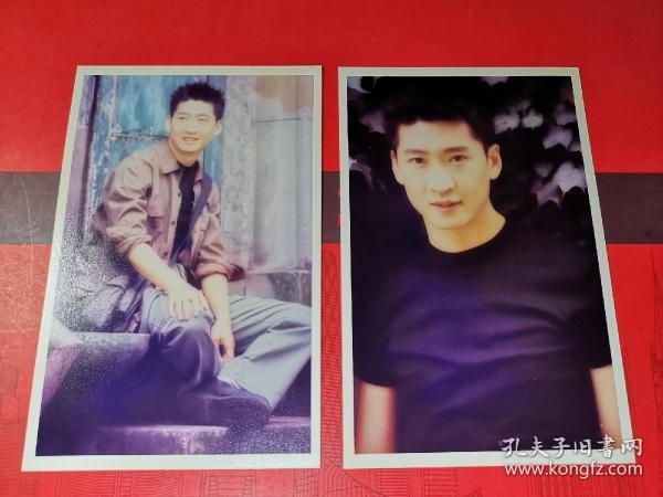 明星照片-------《名星照片周杰》2枚。品如图。