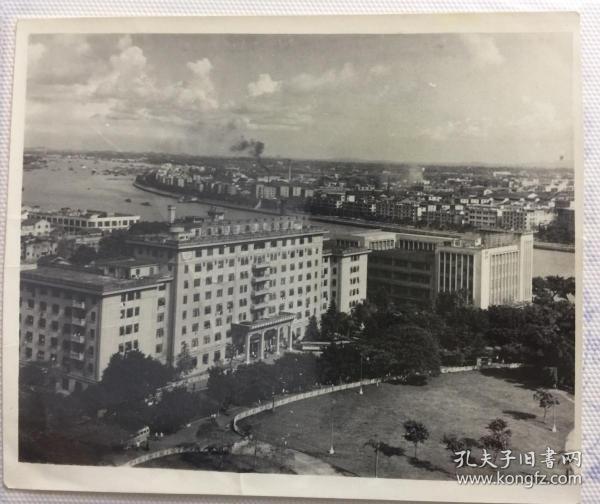 六七十年代广州老照片 珠江两岸一带