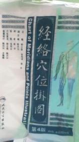 经络穴位挂图(第4版) 本书编写组 9787117172837 人民卫生出版社