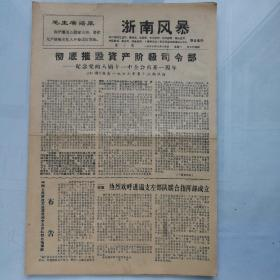 文革小报《浙南风暴》第10期
