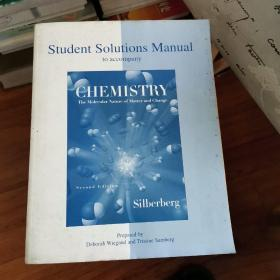 student solution manual to accompany ——chemistry the molecular nature of matter and change