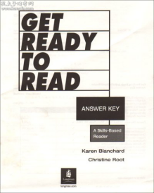 Get Ready to Read Answer Key