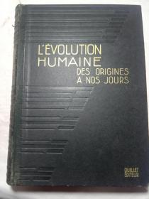 L'EVOLUTION  HUMAINE  DES ORIGINES  A NOS JOURS人类从起源到今天的进化(ll)