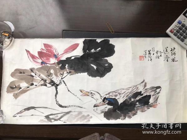 已故著名画家胡荔萍精品