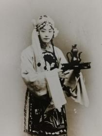 民国时期京剧四大名旦之一程艳秋老照片一张