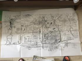 安东市街地图(侵华史料)