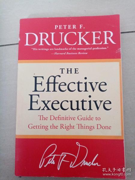 The Effective Executive卓有成效的管理者