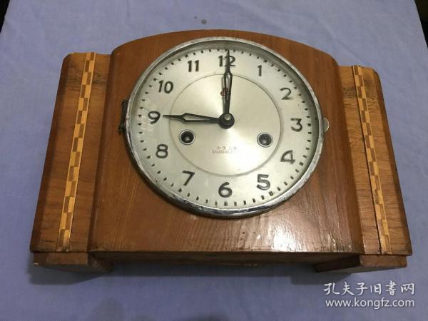 老上海555牌15天座钟