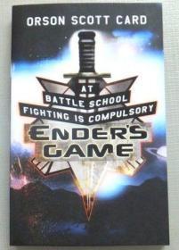 Enders Game 安德的游戏 英文原版小说