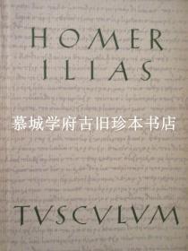罗伯(LEOB)丛书先驱德国《图斯库鲁姆丛书》本/希腊文、德文对照,详注本荷马史诗《伊利亚特》上下册 HOMER: ILIAS. GRIEHISCH/DEUTSCH.UBERTRAGEN VON HANS RUPE - TUSCULUM