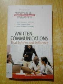 写作交流(哈佛商业评论系列)RDM: WRITTEN COMMUNICATIONS THAT IN HAR