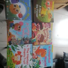 瓜瓜龙英语:K1U1-K1U6 1套4本(24本合售)可点读版