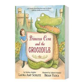 鳄鱼公主 英文原版 Princess Cora and the Crocodile 劳拉埃米施利茨 英文版儿童英语故事书 进口原版课外阅读书籍