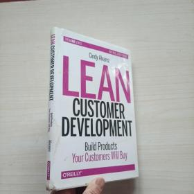 Lean Customer Development:Building Products Your Customers Will Buy(精装)