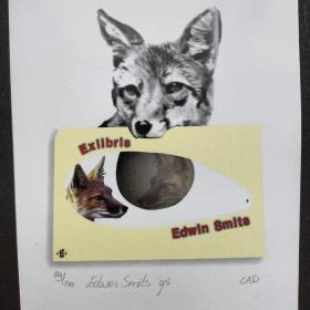 320-Edwin Smits - Reynaert电脑藏书票