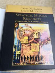 Strategic Human Resources:Frameworks for General Managers