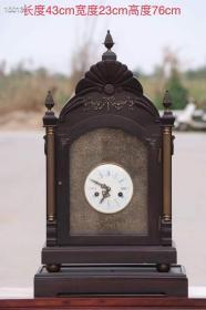 1880年瑞士进口座钟,买家自鉴