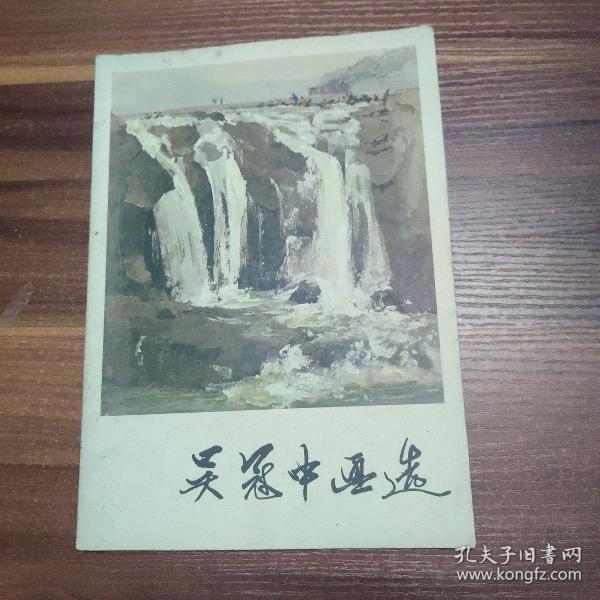 吴冠中画选-16开79年一版一印