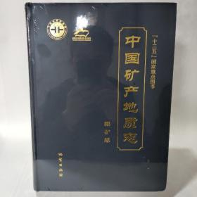 中国矿产地质志(镍矿卷)