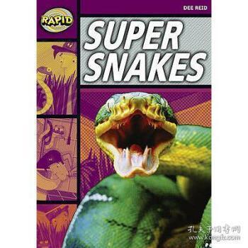【进口原版】Rapid Stage 1 Set A: Super Snakes (Series 1)