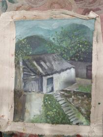 风景油画作品店x