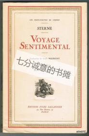 Voyage Sentimental. Traduction de Emile Blemont.