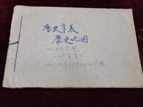 历史年表.历史地图(手绘本)