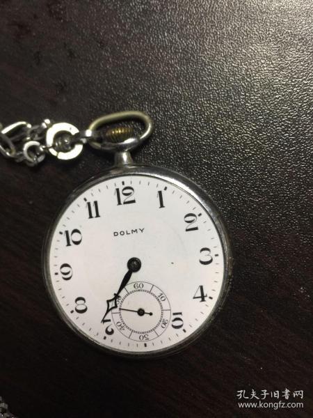 瑞士道尔美古董瓷盘怀表(正常走时不保准)