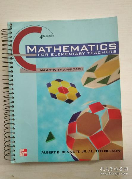MATHEMATICS FOR ELEMENTARY TEACHERS( 4th edition)
