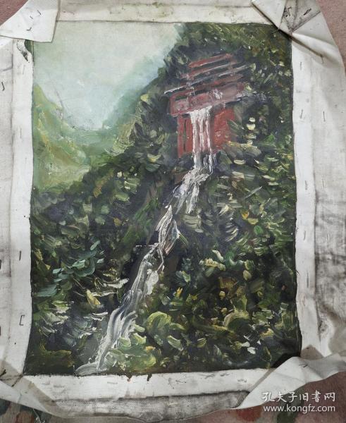 风景油画作品店l