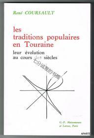Les traditions populaires en Touraine. Leur évolution au cours des siècles.