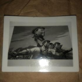 文革宣传画照片