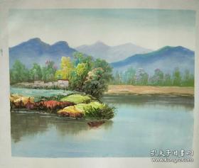 张晨燕风景德油画