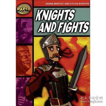 【进口原版】Rapid Stage 2 Set B: Knights and Fights (Ser...