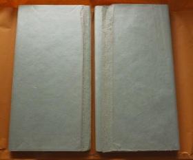 日本和纸 日和浅绿色云龙纸 2刀200张 98*66cm色纸 N1111