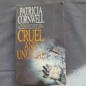 CRUEL AND UNUSUAL 《失落的指纹》英文原版