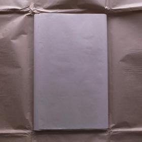 日本80年代老宣纸花纹宣25张227*53cm色纸书画宣纸N1108