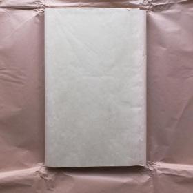 日本80年代老宣纸高级花纹宣 50张227*53cm色纸书画宣纸N1109