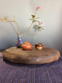 风化木干泡茶台