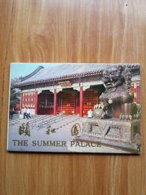 1978年明信片:颐和园( 带外套现存9张 末使用过)