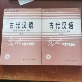 古代汉语上中册