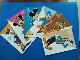 米奇家族明信片(一套6枚)