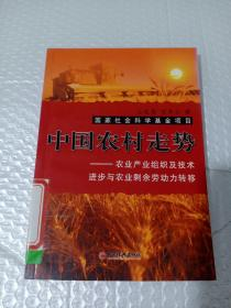 中国农村走势:农业产业组织及技术进步与农业剩余劳动力转移