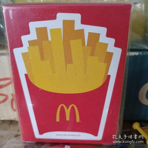 麦当劳玩具 麦当劳2016年日本绝版扑克牌,日本制造