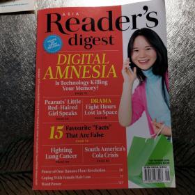 reader's digest  2016-9